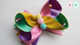 Laço De Fita – Ribbon Bow Tutorial