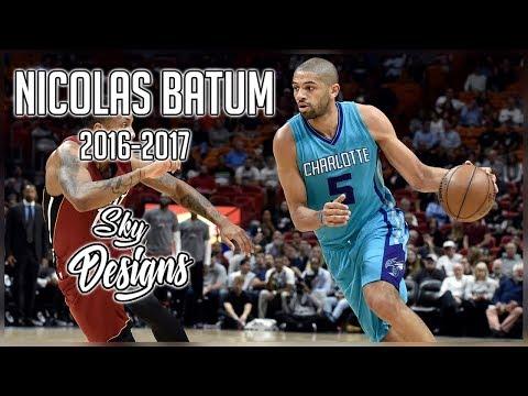 Nicolas Batum Official 2016-2017 Season Highlights // 15.1 PPG, 6.2 RPG, 5.9 APG