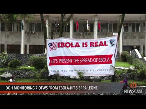 DOH monitoring 7 OFWs from Ebola hit Sierra Leone