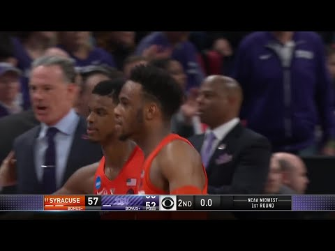 No. 11 Syracuse knocks off No. 6 TCU in first round of NCAA Tournament