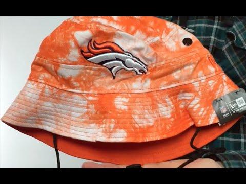 21d9d00e3 Broncos  TYE-DYE ZONE  Bucket Hat by New Era - YouTube