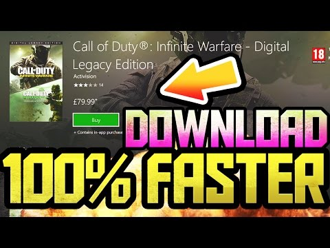 How to Install DIGITAL Games 100% FASTER XBOX ONE! 2017 [TUTORIAL]::