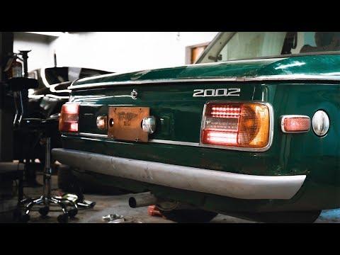 BMW 2002 DIY LED Tail Lights (Ep #6)(4K)