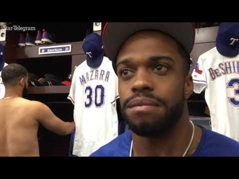 Delino DeShields said it feels weird to end the season with meaningless games