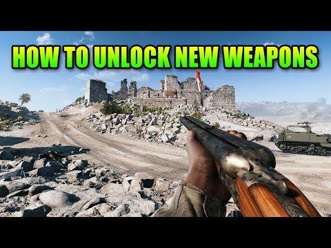 How To Unlock Weapons   Battlefield 5 Newbie Guide - YouTube