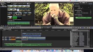 Final Cut Pro Basics Tutorial Pt. 6 - Transform / Crop / Distort Tools