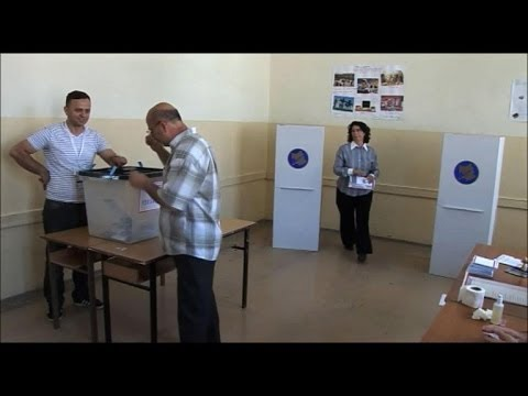Kosovo voters hoping political stability brings change