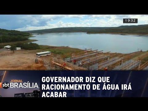 Governador diz que racionamento de água irá acabar
