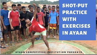 Shot-Put  Important Tips Coaching In Ayaan Institute 8885885786 by Mohd.Anwar Sir, Chairmen