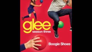 Glee Cast - Boogie Shoes (lyrics in description)