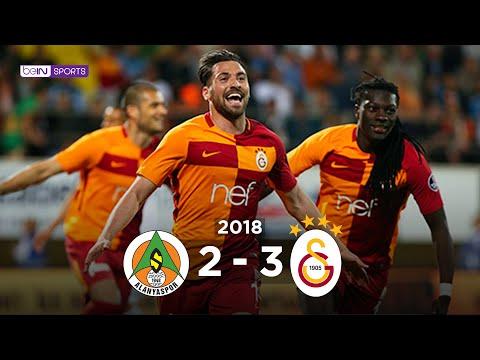 A. Alanyaspor 2 - 3 Galatasaray
