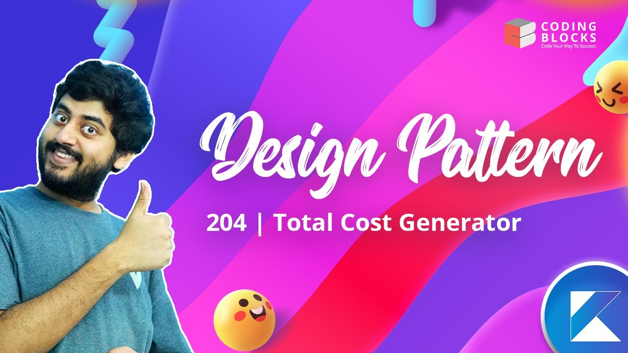 Design Pattern with Kotlin - 204 | Total Cost Generator
