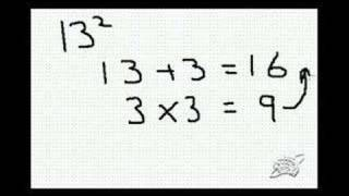 amazing technique for calculating easily in your head