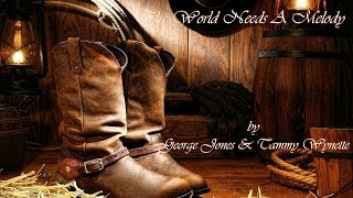 Watch George Jones The World Needs A Melody video