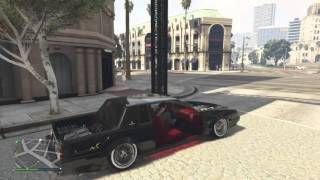 Grand Theft Auto V (showing off lowrider)
