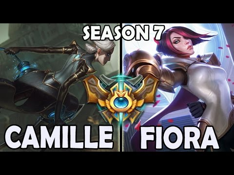 Marin plays CAMILLE TOP vs A Korean CHALLENGER FIORA