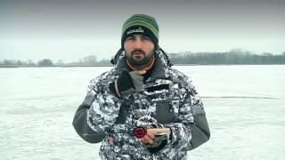 Не дорогі зимові вудки для лову на балансир відео