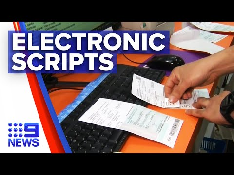 New Queensland law allowing electronic scripts | 9 News Australia