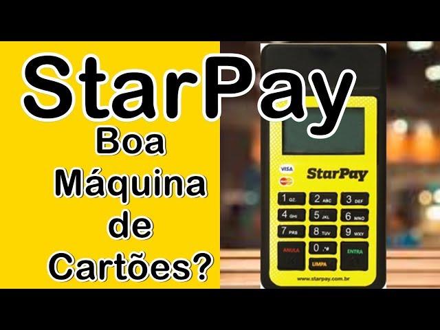 StarPay: Boa Máquina de Cartões? #PagamentosMóveis #AppseDicas