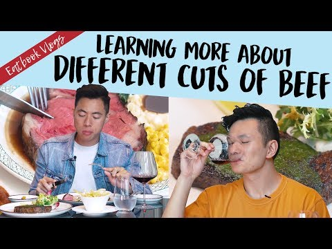 LEARNING ABOUT DIFFERENT CUTS OF BEEF | Eatbook Vlogs | EP 77