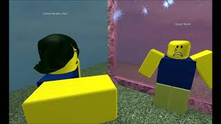 Classic Noob brainwashes the Roblox Community into liking Caillou gets Grounded/GoAnimate Time