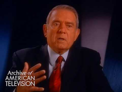 Dan Rather on his on air relationship with President Richard Nixon - EMMYTVLEGENDS.ORG