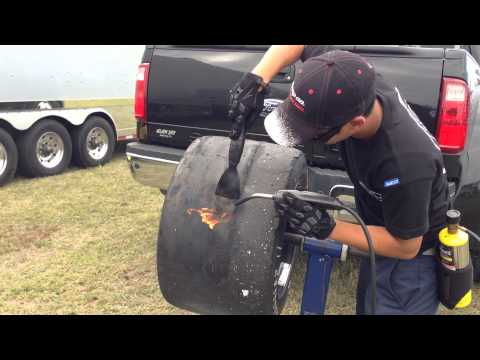 Racing Tire Cleaning