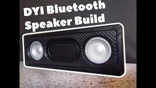 DIY Bluetooth 10w Speaker Build Video Portable Speaker