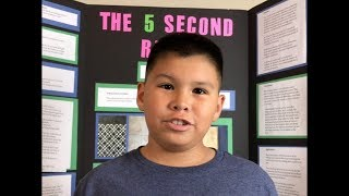 The 5 Second Rule | Science project