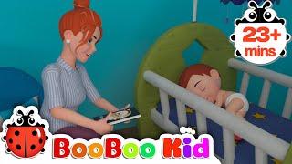 Nap Time Song  + More Nursery Rhymes & Kids Songs | Boo Boo Kid