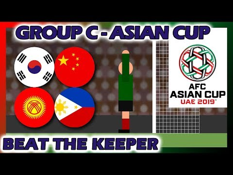 Beat The Keeper - 2019 AFC Asian Cup Group C Rerun - Marble Race