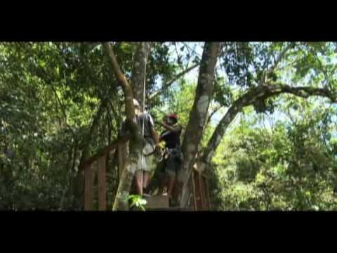 Antigua Rainforest zip line tour