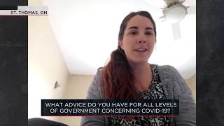 What advice do you have for all levels of government concerning COVID-19? | Outburst