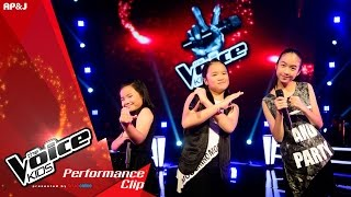 The Voice Kids Thailand - Battle Round -  VS  VS  - Baby one more time - 21 Feb 2016