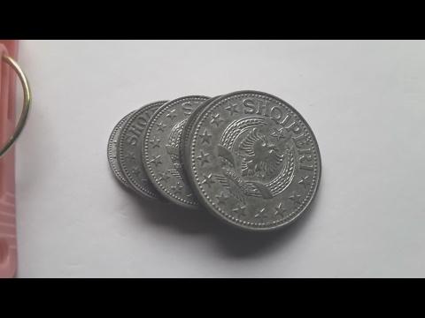 Albania 1957 coins