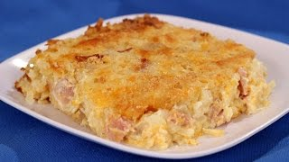 Ham And Hash Brown Casserole Recipe - Amy Lynn's Kitchen