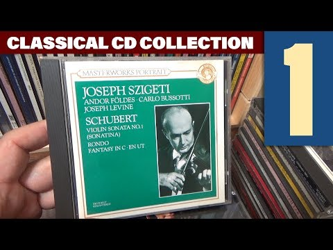 My Classical CD Collection, Vol. 1: Heifetz, Horowitz, Feuermann, Casals, Menuhin, Szigeti...