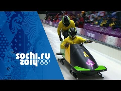 Bobsleigh - Men's Two-Man Heats 1 & 2   Sochi 2014 Winter Olympics