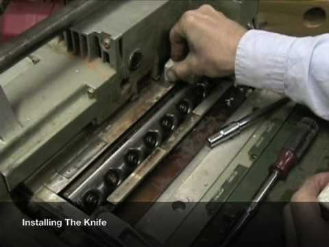 4 How To Install Planer Blades After Sharpening [4 of 8]