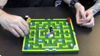 Toy Brief 48 : Minotaurus LEGO Game Set 3841 Opening Building Review Play