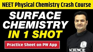 SURFACE CHEMISTRY in One Shot - All Theory, Tricks & PYQs | Class 12 | NEET