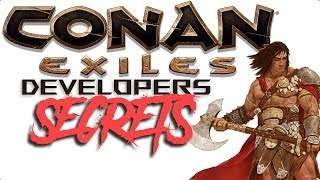Conan Exiles: WHAT THE DEV'S ARE HIDING, OUTSIDE THE MAP!!