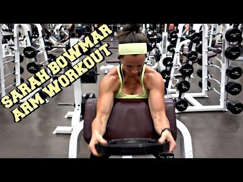 Sarah Bowmar Arm Workout