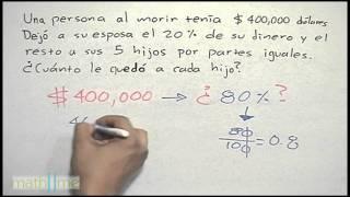 Porcentajes │ problema 5