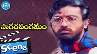 Gambar cover Sagara Sangamam Movie Scenes - Kamal Hassan Criticizing SP Shailaja's Dance    Jaya Prada