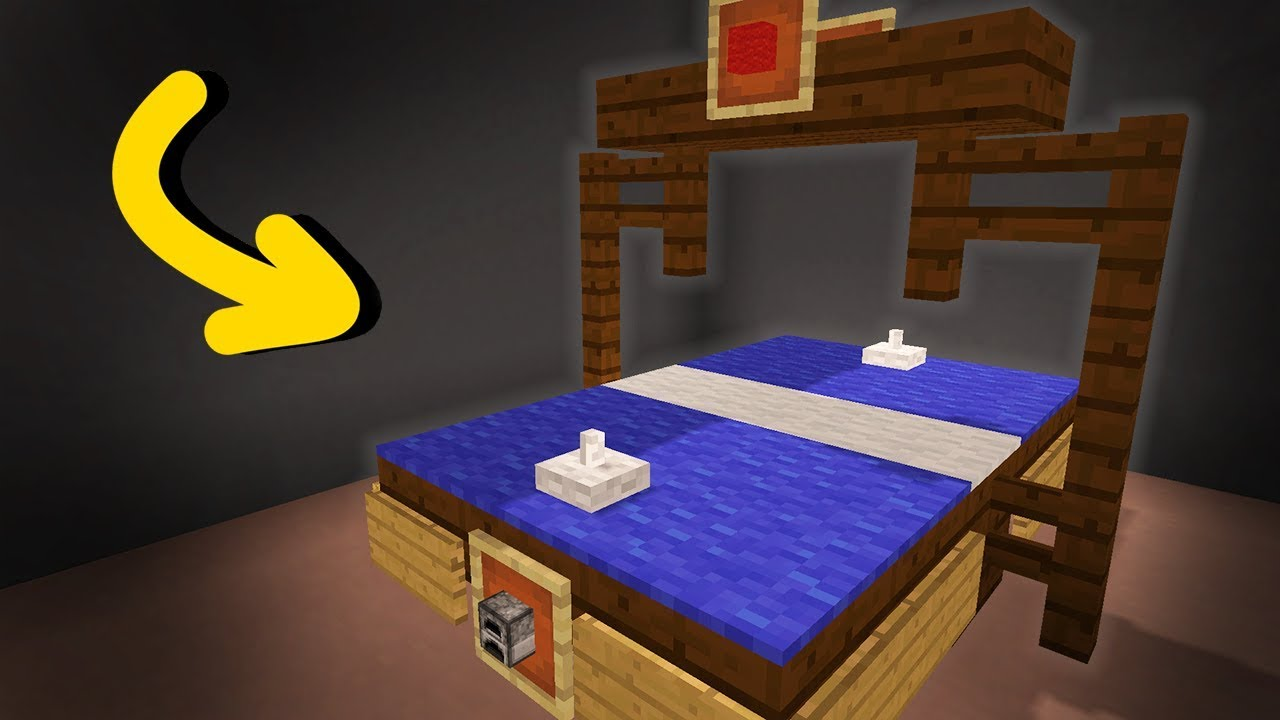 Minecraft  How To Make An Air Hockey Table  Tutorial  YouTube