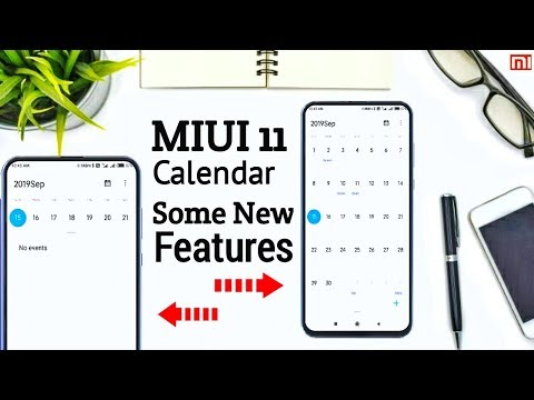 MIUI 11 Calendar With New Features 🔥🔥