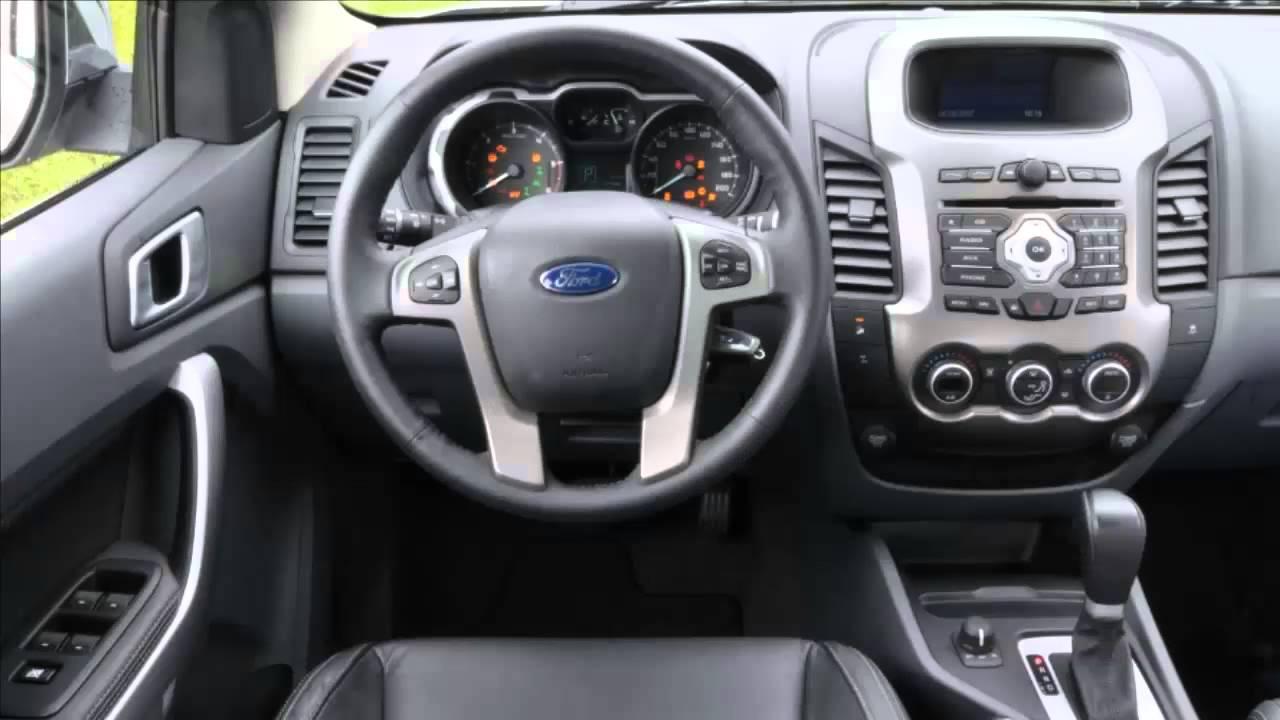 car interior ford ranger  youtube