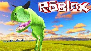 """Primal Life """"Roblox"""" (Gameplay/EN)-Playing Carnotauro! (#1)"""