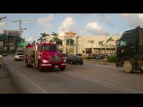 Saipan Fire truck 消防車